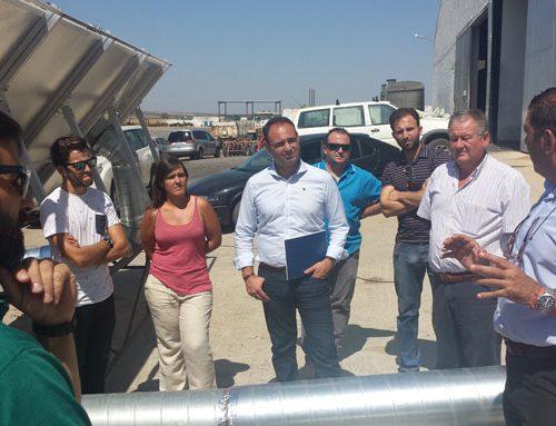 La IGP Garbanzo de Escacena ensaya con un horno solar para ganar eficiencia y lograr una producción más ecológica