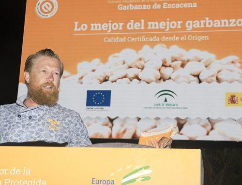 La IGP Garbanzo de Escacena protagoniza un Showcooking en Costa Ballena