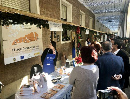 La IGP Garbanzo de Escacena participa en la IX Muestra del Aceite de Oliva y Conservas de la Provincia de Huelva