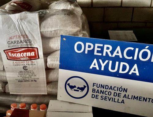 Los Bancos de Alimentos de Huelva y Sevilla reciben 4 toneladas de garbanzos de la IGP 'Garbanzo de Escacena'