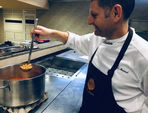 El 'Garbanzo de Escacena' se suma a la ruta gastronómica 'ADN Huelva' del chef onubense Xanty Elías