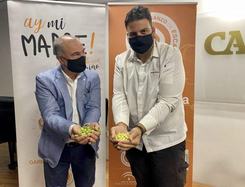 La IGP 'Garbanzo de Escacena' y el chef Xanty Elías trabajarán en la promoción del garbanzo verde